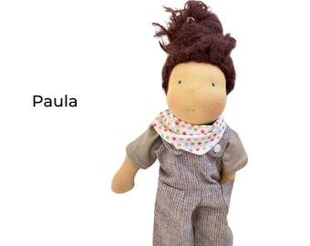 Paula- Waldorf style rag doll*