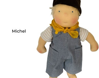 Michel - little rascal rag doll, Waldorf style