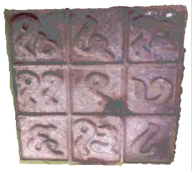 Yantra of Saturn magick occult talisman goetia enochian djinn sorcery