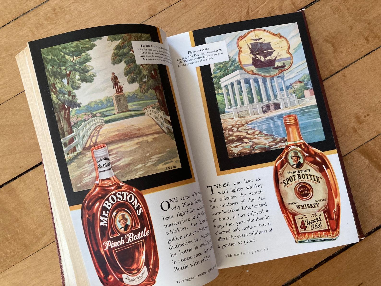 Vintage Bartending Book Old Mr. Boston De Luxe Official   Etsy