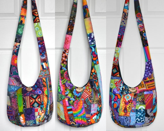 Made to Order Hobo Bag Crossbody Bag Patchwork Boho Purse   Etsy 9621b689b6