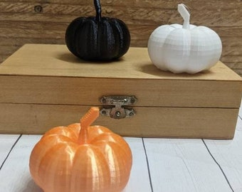 Miniature Mini Pumpkin Set for tier trays, or Dollhouse miniature - Mini Pumpkin