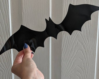 Halloween 3D bat wall décor, Indoor-Outdoor bats, Halloween décor, set of 20