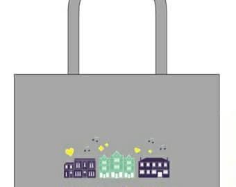 Heart Of The Heatons Festival Shopper Bag For Life Bag
