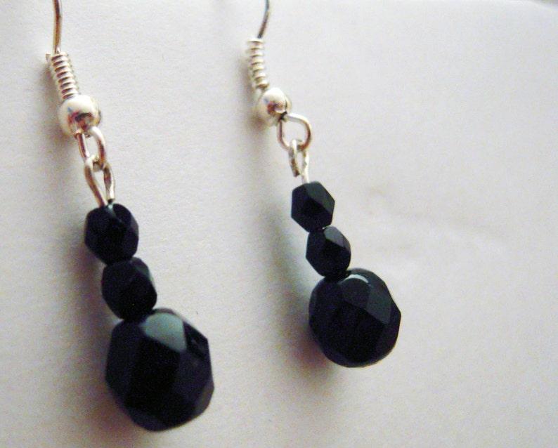 Shiny sparkly earrings