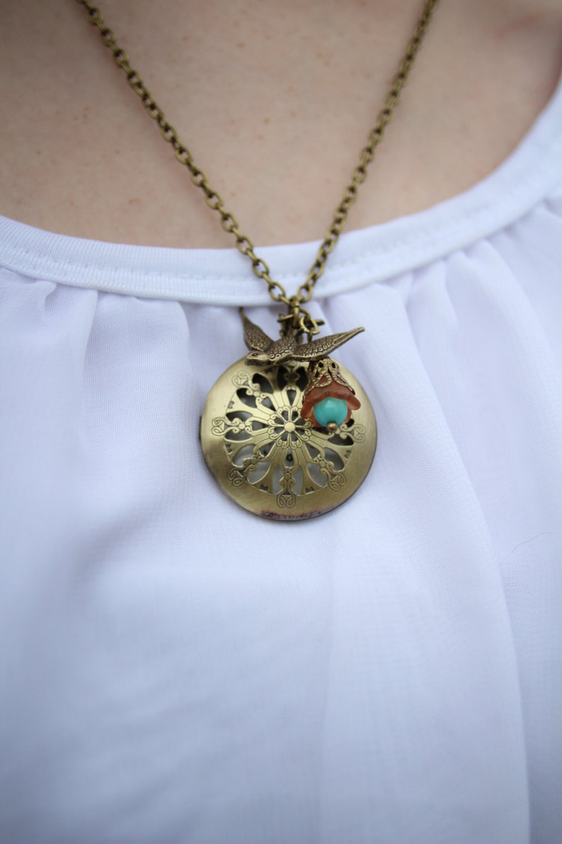 I Believe In The Person I Want To Become Locket Necklace ...
