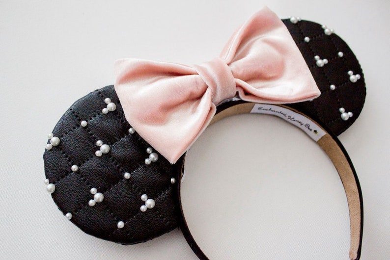 Black Mickey Ears Classy Mickey Mouse Ears Disney Ears  59155c6025fe