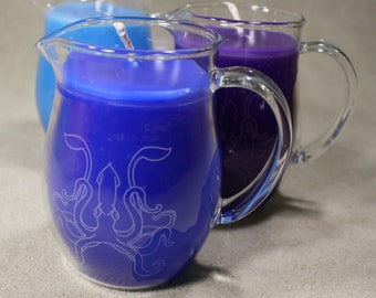 Wax Play Pitcher Candle - Low Temp  - Kink candles - BDSM Candle - Wax Play Candle