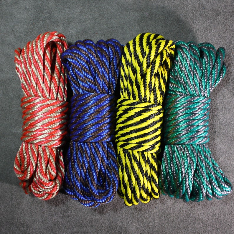 Favorite color bondage rope