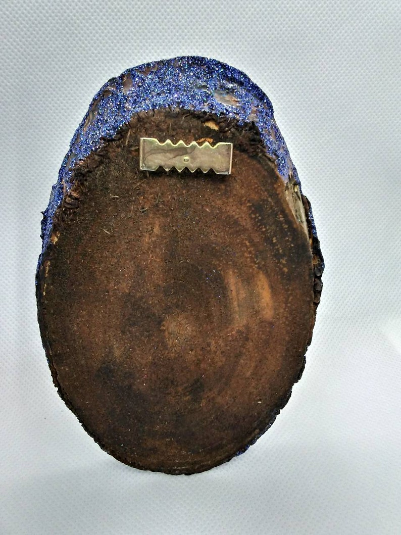 Small Catalope Mounted Skull Blue