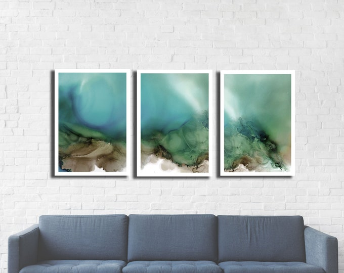 Whirlwind Triptych 3 print set