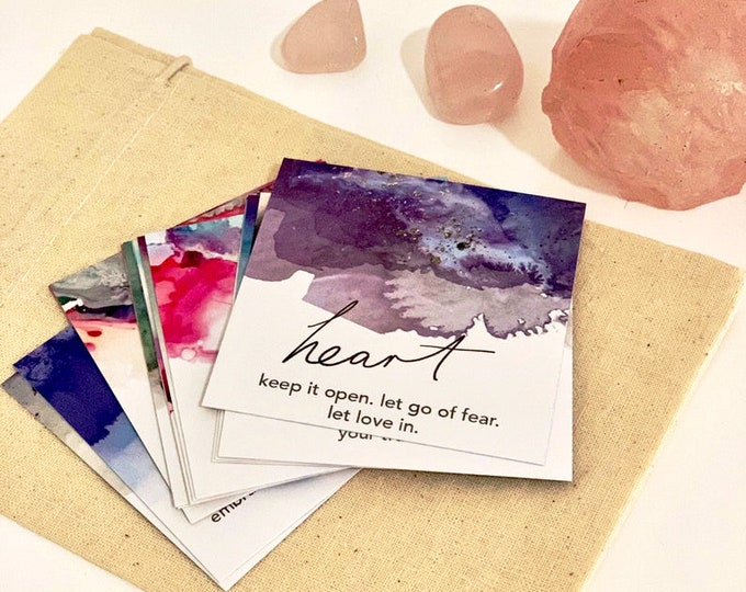 Daily Insights Affirmation Card Pack (14 cards)