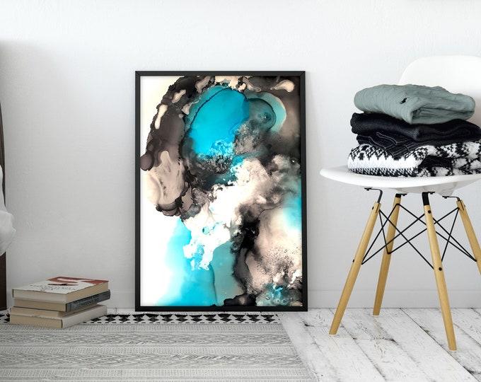 Mystic Blue II Art Print (Unframed)