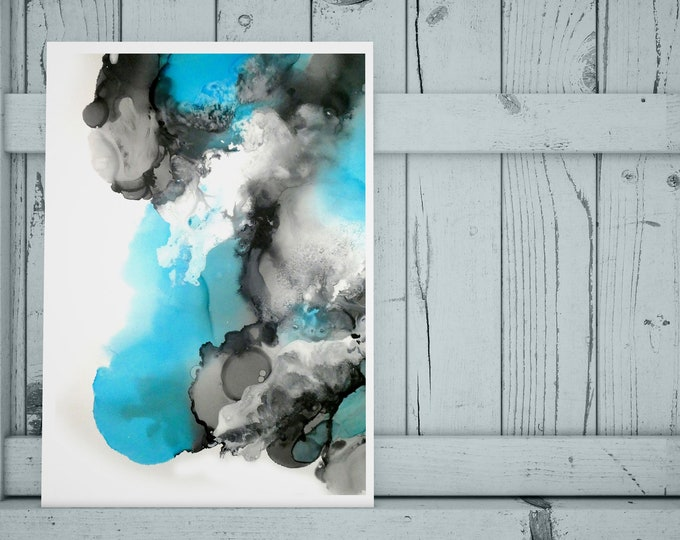 Mystic Blue Art Print (Unframed)