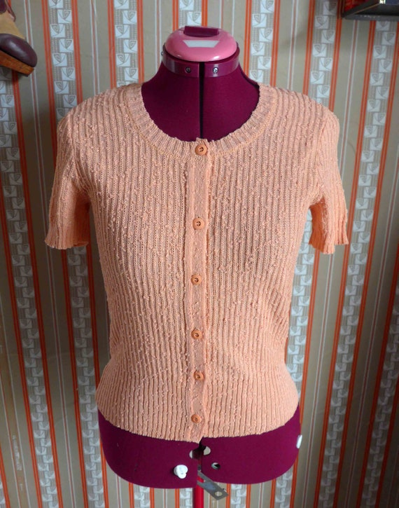 Beautiful French Vintage 1970's Does 1940's Jean D