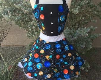 Science costume apron dress