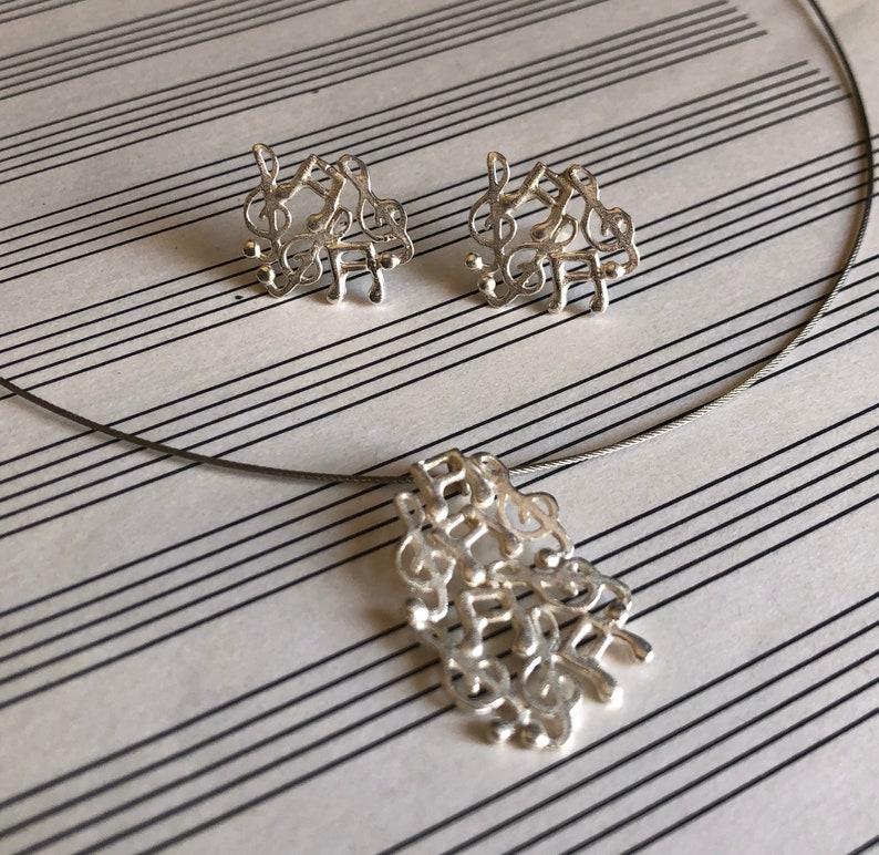 Music music pendal silver pendal colgante de musica colgante,plata musica