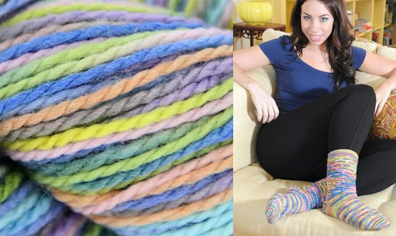 1x1.76 oz//50g Hachito Four Ply Fingering Sock yarn by Mirasol #10015
