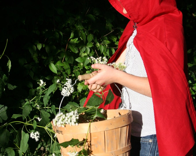Little Red Riding Hood Cape - Child Size