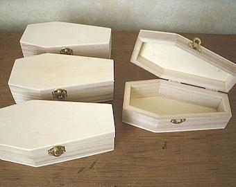 Pine coffin | Etsy