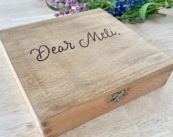 Letter Box, Dear Love, Love Letters, Letter Storage