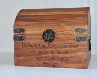 Large Keepsake Box with Quote