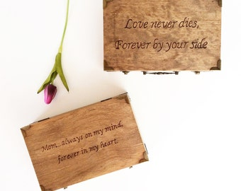 Memorial Box, Memorial Keepsake, Memories, Loss of a Loved One, Loss, miscarriage, too beautiful for earth