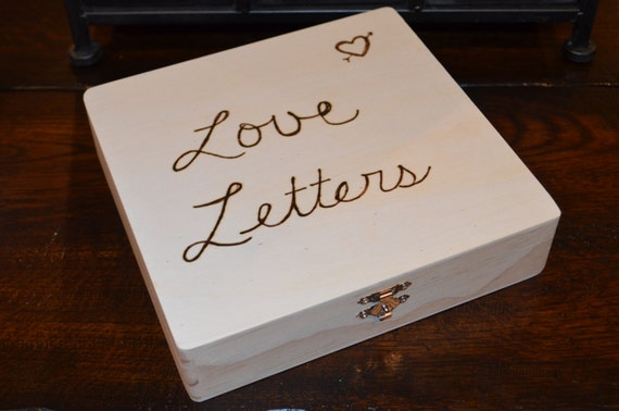 Love Letter Box READY to SHIP | Etsy