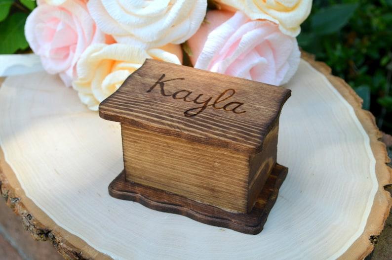 Personalized Box Bridesmaid Box Gift Box Wedding image 0