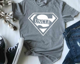 cab3de47c9 Super Uncle t shirt, Gifts for brother, Uncle t shirts, Birthday gift for  uncles, Gifts for him, Super hero shirts, Super hero t shirts