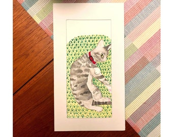 Customized Commissioned Watercolour Paintings of your Pets