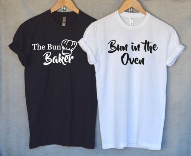 06cdef06 Pregnancy Announcement T-ShirtsBun in the Oven Shirt The Bun | Etsy