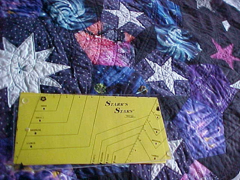 Starrs stars quilting ruler etsy