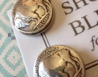 Show Bling for Men - Buffalo Nickel