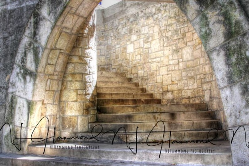Stone Stairs Digital steps Wedding digital stone stairs image 0