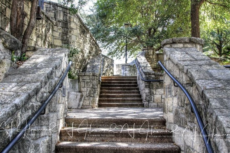 Stairs digital background stairs digital backdrop stone stairs image 0