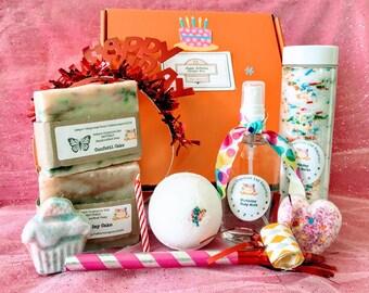 Birthday Gift Box Spa Set Bath Bomb Fizzie