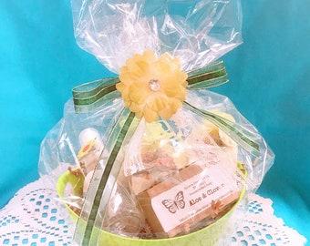 clover gift basket clover clover spa gift spa gift set womens spa gift set teen spa gift set bridal shower gift gift for her bath