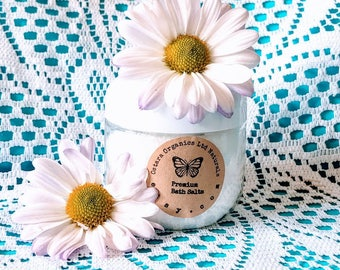 Jasmine Bath Salts, Jasmine Bath Soak, Jasmine, Natural Bath Salts, Natural Bath Soak, Jasmine Spa Salts, Jasmine Spa Soak, Jasmine Spa