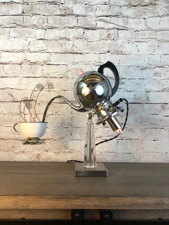 Table Lamp Vintage Percolator