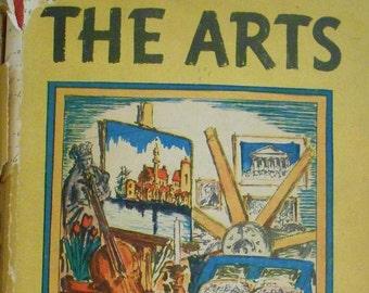 The Arts, Hendrik Willem Van Loon, art book, fine arts book, art criticism, minor arts book, art history book, Dutch writers