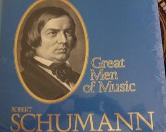 Schumann Time Life Great Men of Music, vinyl records, classical music, Charles Munch, Erich Leinsdorf, Fritz Reiner, Maureen Forrester