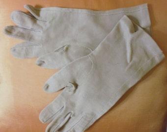 Ladies gray gloves, formal gloves, medium gloves, opera gloves, cosplay gloves, autumn gloves, above the wrist