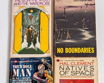 The Lion the Witch and the Wardrobe 1970 / No Boundaries 1955/ The Whole Man 1964 / Natives of Space 1965