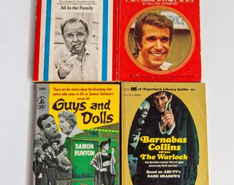 Guys and Dolls 1955 / Happy Days Fonzie Drops In 1974 / The Wit and Wisdom of Archie bunker 1971 / Barnabus Collins Versus the Warlock 1969