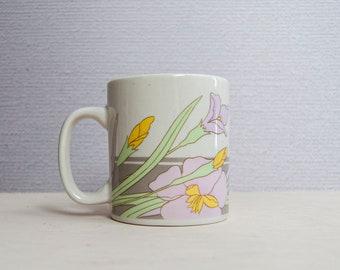 Vintage Lily Mug Etsy