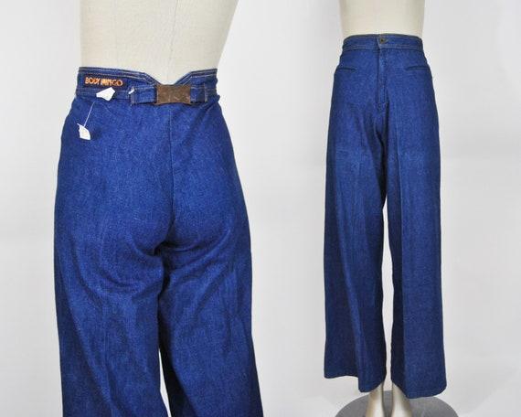70s Deadstock Wide Leg Jeans XS / 9