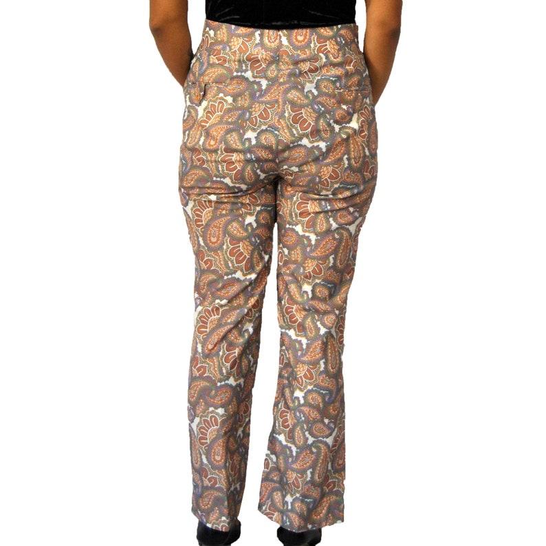 70s Paisley Pants L-XL