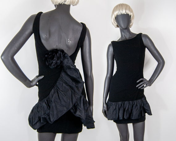 60s Ruffle Mini Dress XS / S