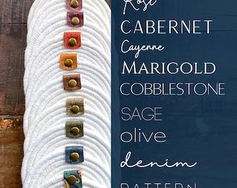 Cotton Rope Coasters - Cork